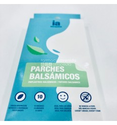 INTERAPOTHEK APOSITOS BALSAMICOS  10 PARCHES