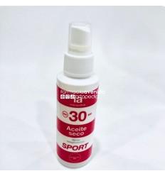 INTERAPOTHEK ACEITE SECO SPF 30 SPORT  100 ML