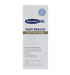 SALVELOX MED FOOT RESCUE CREMA PIES  100 ML