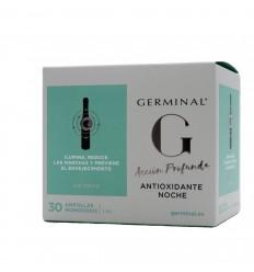 GERMINAL ACCION PROFUNDA ANTIOXIDANTE NOCHE 1 ML 30 AMPOLLAS
